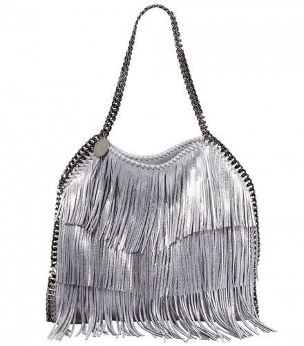 Stella McCartney Falabella Fringe Small Tote Bag