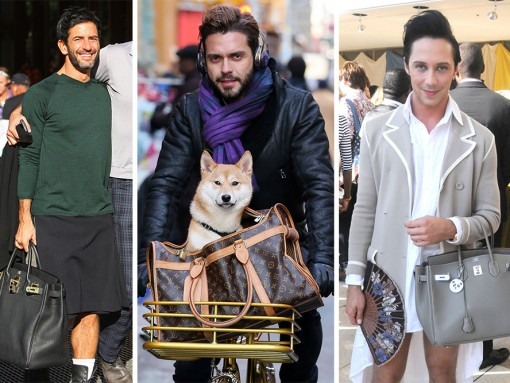 The Many Bags of Accessory-Loving Male Celebs
