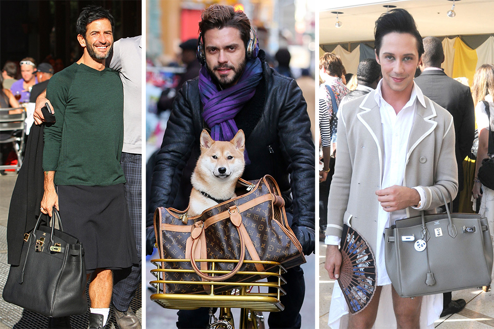 The Many Bags Of Accessory Loving Male Celebrities Purseblog