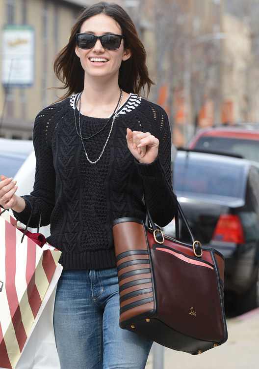 The Many Bags of Emmy Rossum-10