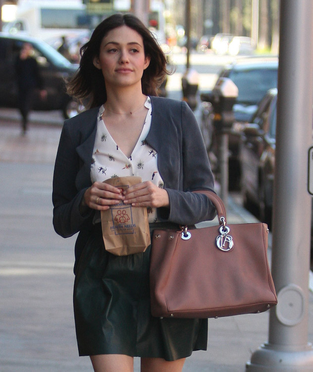 The Many Bags of Emmy Rossum-13