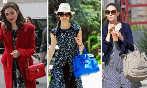 The Many Bags of Emmy Rossum