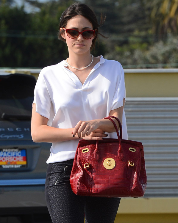 The Many Bags of Emmy Rossum-31