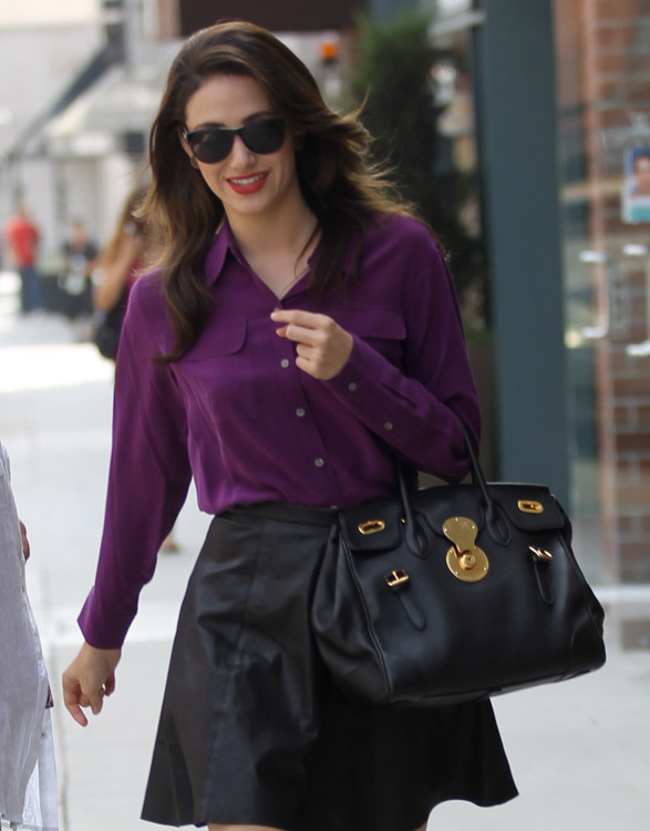 The Many Bags of Emmy Rossum-7