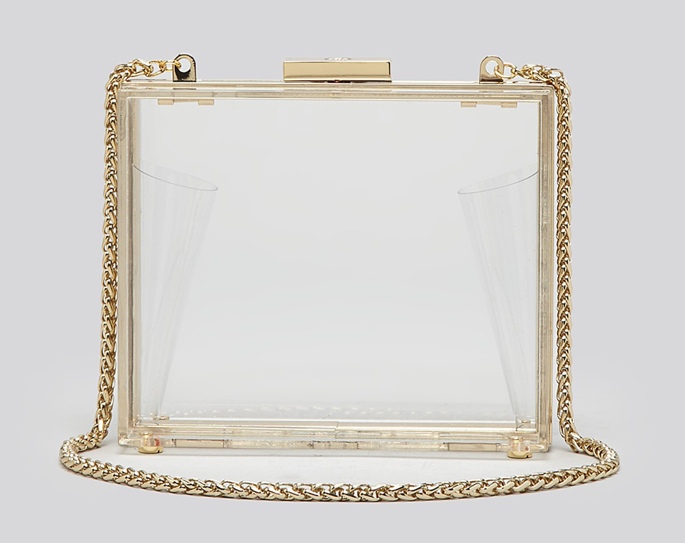 Tory Burch Laken Clear Minaudiere