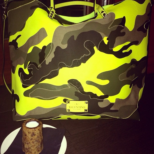 Valentino Camo Cookie Shot