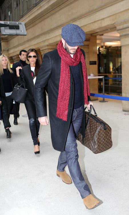 Victoria Beckham Liberty Tote David Beckham Louis Vuitton Monogram Macassar Keepall Bag-3