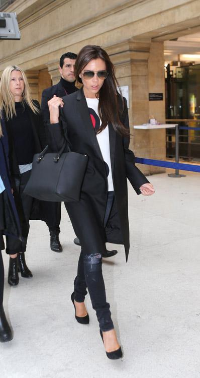 Victoria Beckham Liberty Tote David Beckham Louis Vuitton Monogram Macassar Keepall Bag-4