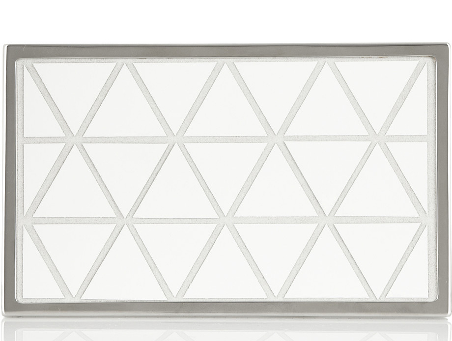 Victoria Beckham Triangular Box Clutch