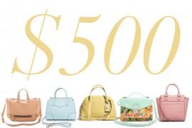 5 Under $500: Pretty Pastel Bags