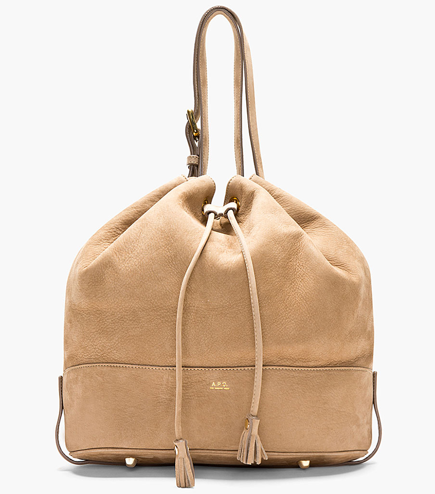 APC Nubuck Bucket Bag