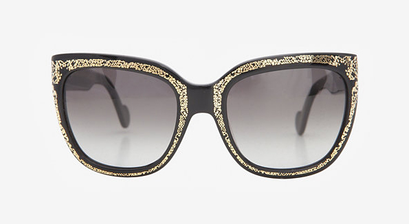 Anna-Karin Karlsson Gold Trim Sunglasses