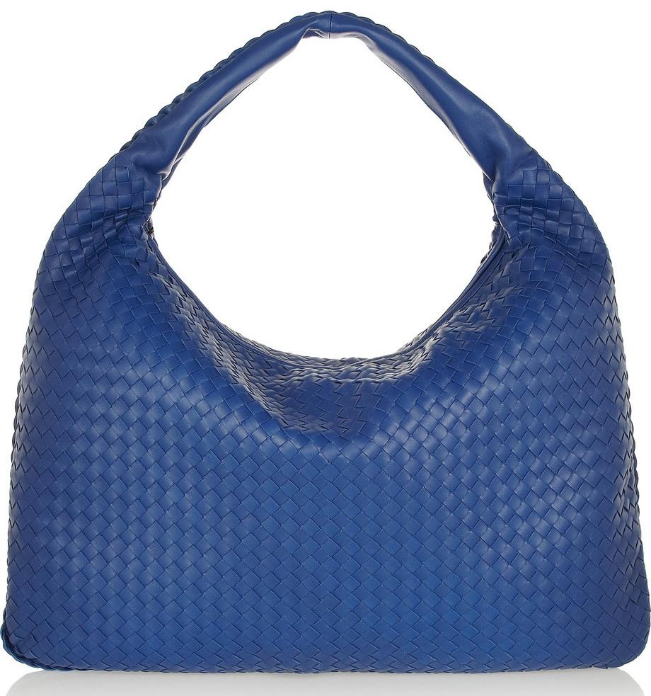 Bottega Veneta Maxi Veneta Blue