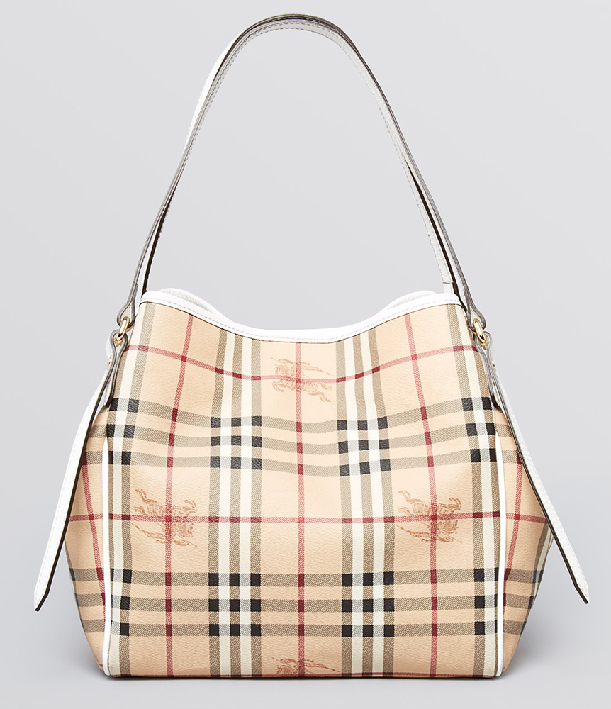 Burberry Tote Haymarket Colours Small Canterbury