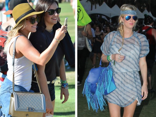 Check Out Which Bags Celebs Carried at Coachella 2014