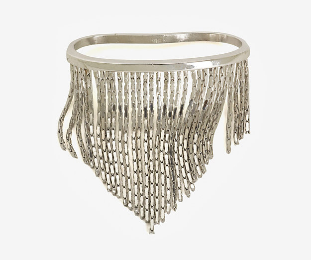 Fallon Liquid Fringe Palm Cuff