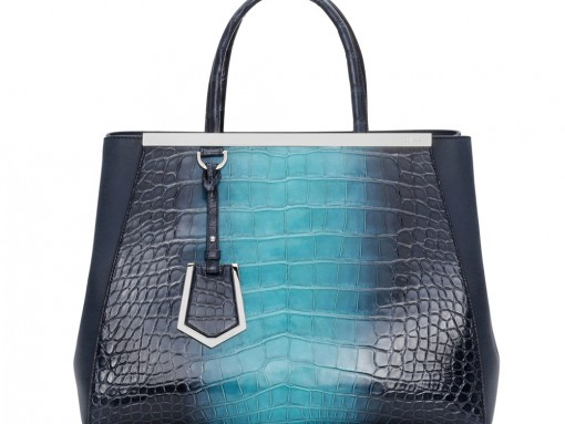 Fendi's Fall 2014 2Jours Line Will Include This Alligator Beauty