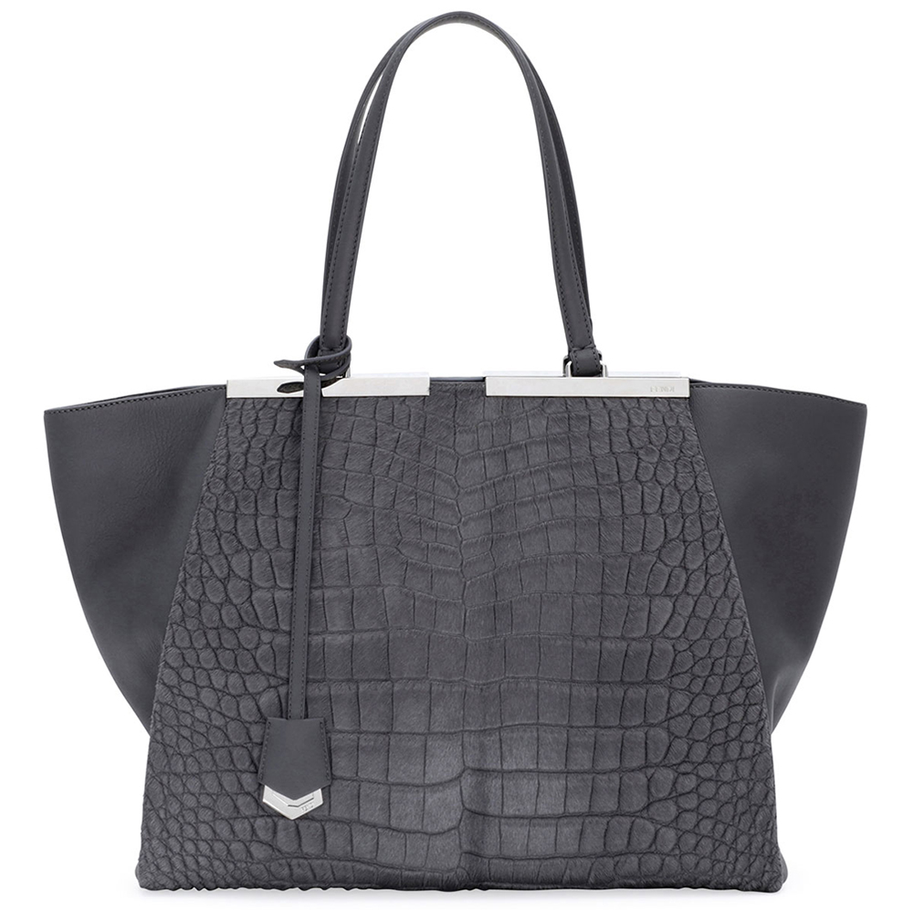 Fendi 3Jours Calf Hair Tote