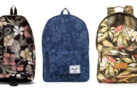 Man Bag Monday: Floral Backpacks