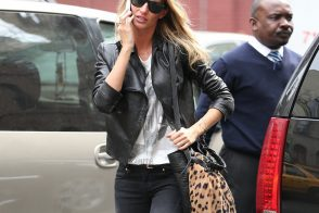 Gisele Bundchen Shops with an Alexander Wang Bag