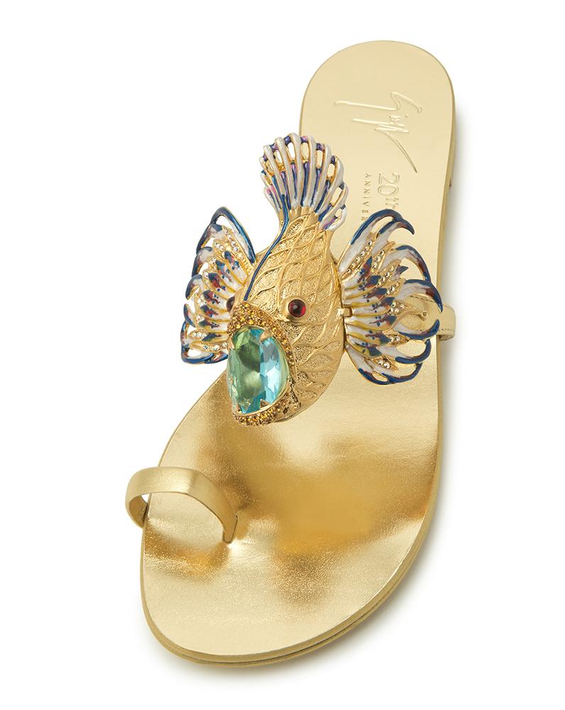 Giuseppe Zanotti Jewel Spipiott Sandals