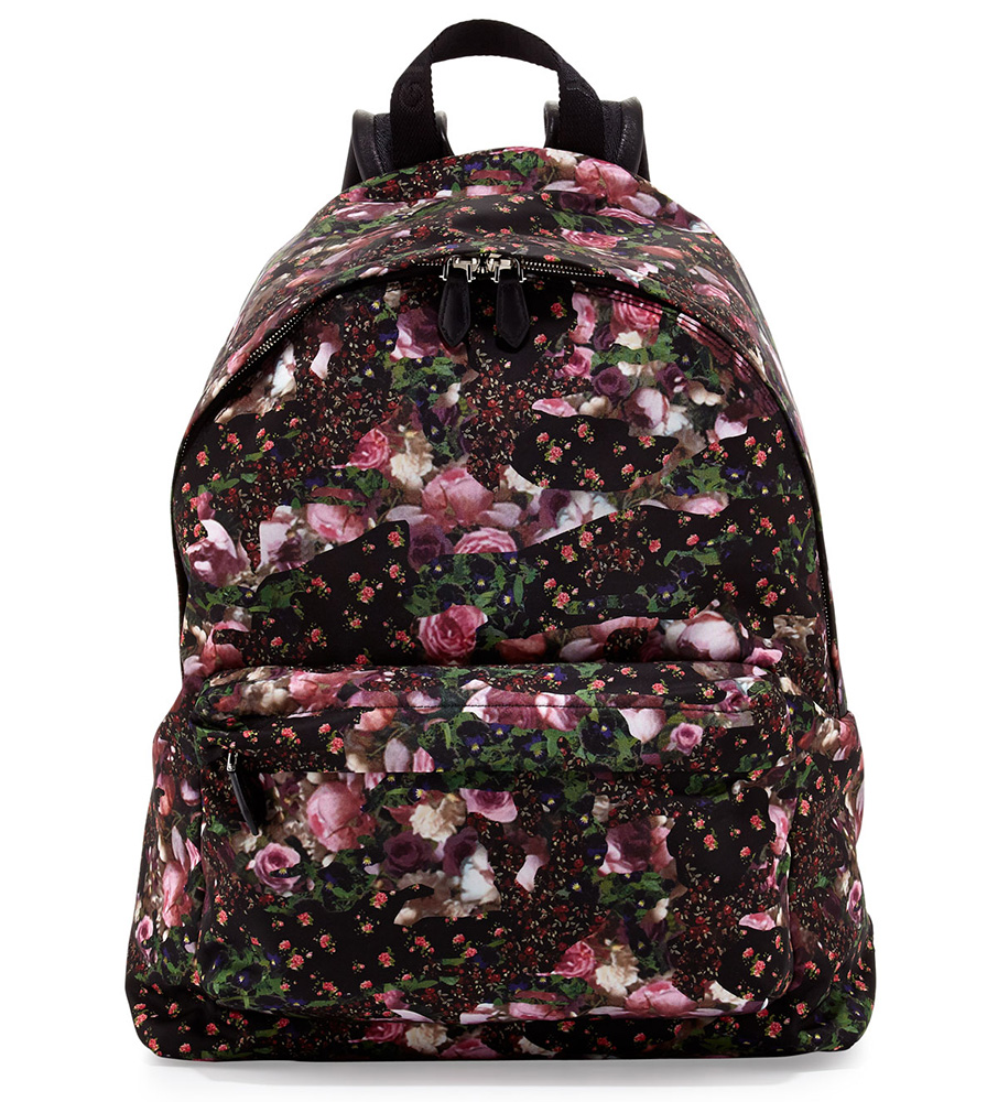 Man Bag Monday: Givenchy Floral Backpack - PurseBlog