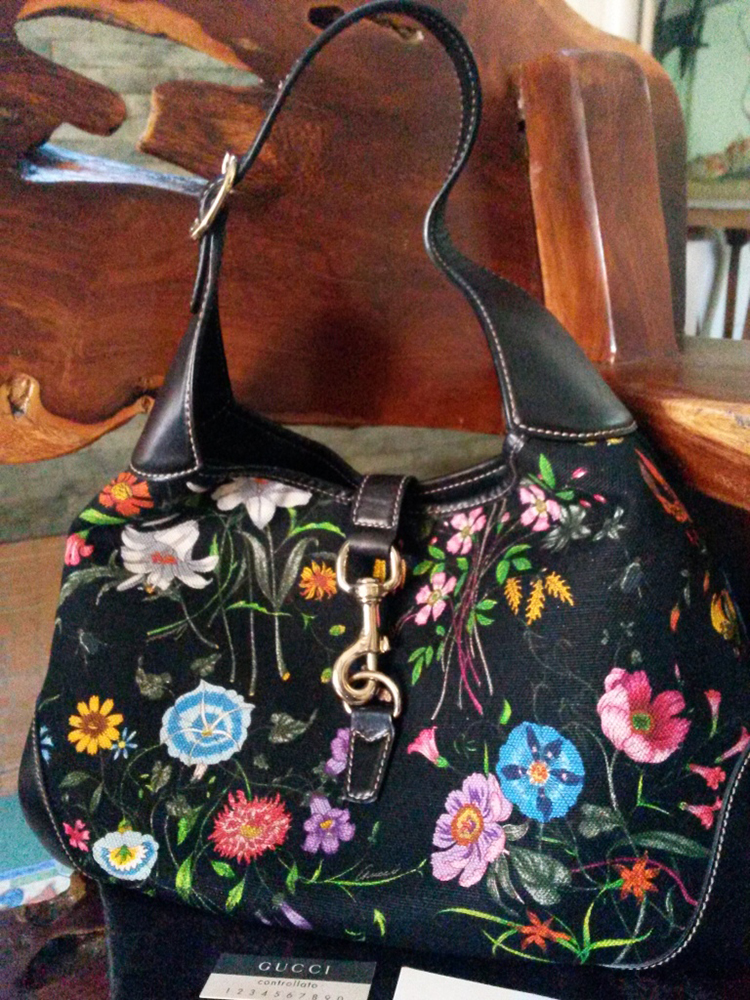 Gucci Flora Jackie Hobo