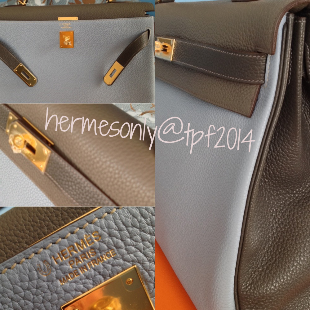 Hermes Bicolor Kelly Bag