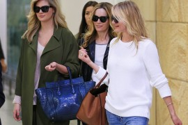 Kate Upton and Cameron Diaz Travel with Celine Bags