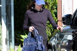 Kendall Jenner Carries Balenciaga to the Salon