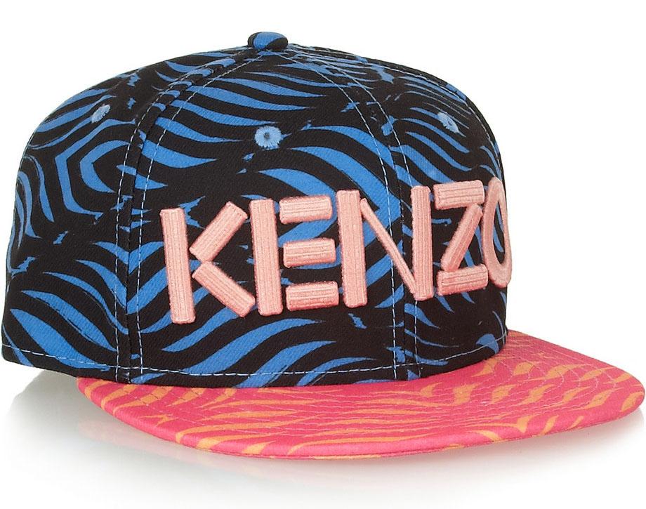 Kenzo New Era Printed Hat