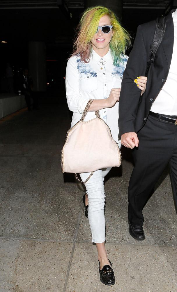 Kesha Stella McCartney Falabella Bag-1