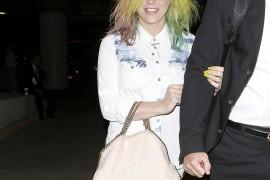 Kesha Takes her Stella McCartney Bag to Tahiti