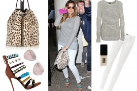 Khloe Kardashian Elizabeth and James Cynnie Bag
