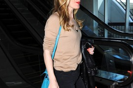Leslie Mann Hermes Kelly Bag-3