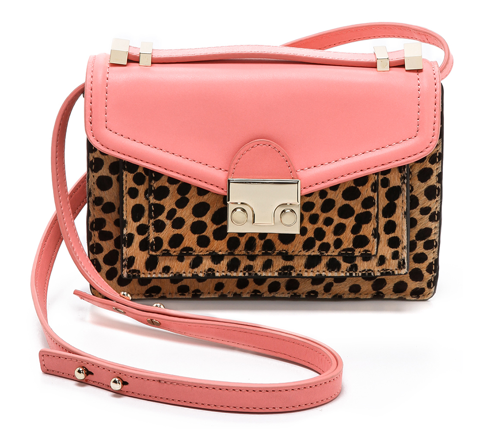Loeffler Randall Mini Haircalf Rider Bag