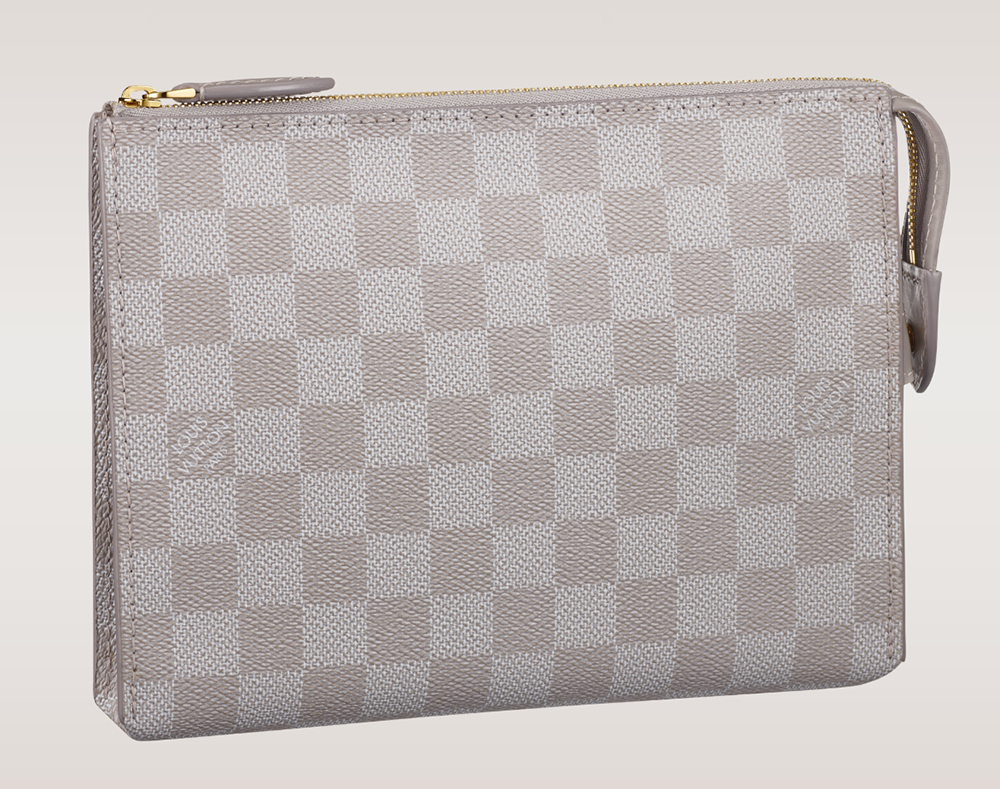 Louis Vuitton Damier Couleurs Element Clutch Gres