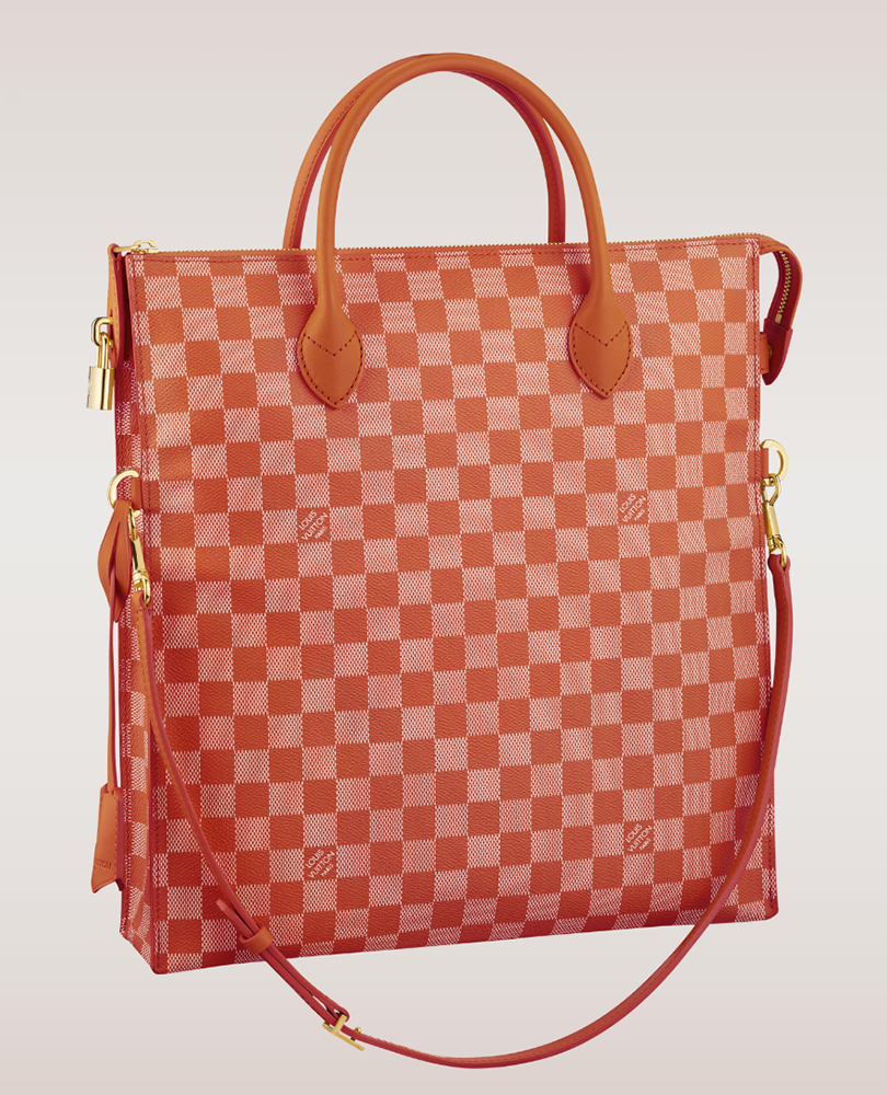Louis Vuitton Damier Couleurs Mobil Tote Piment