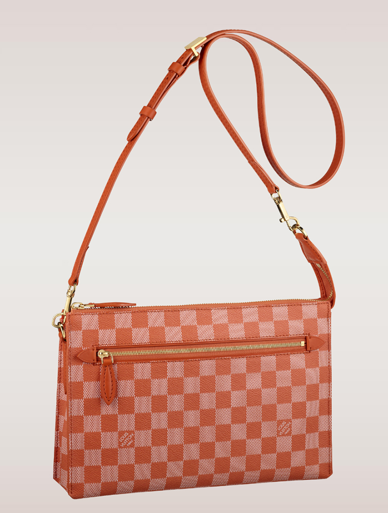 Louis Vuitton Damier Couleurs Modul Shoulder Bag Piment