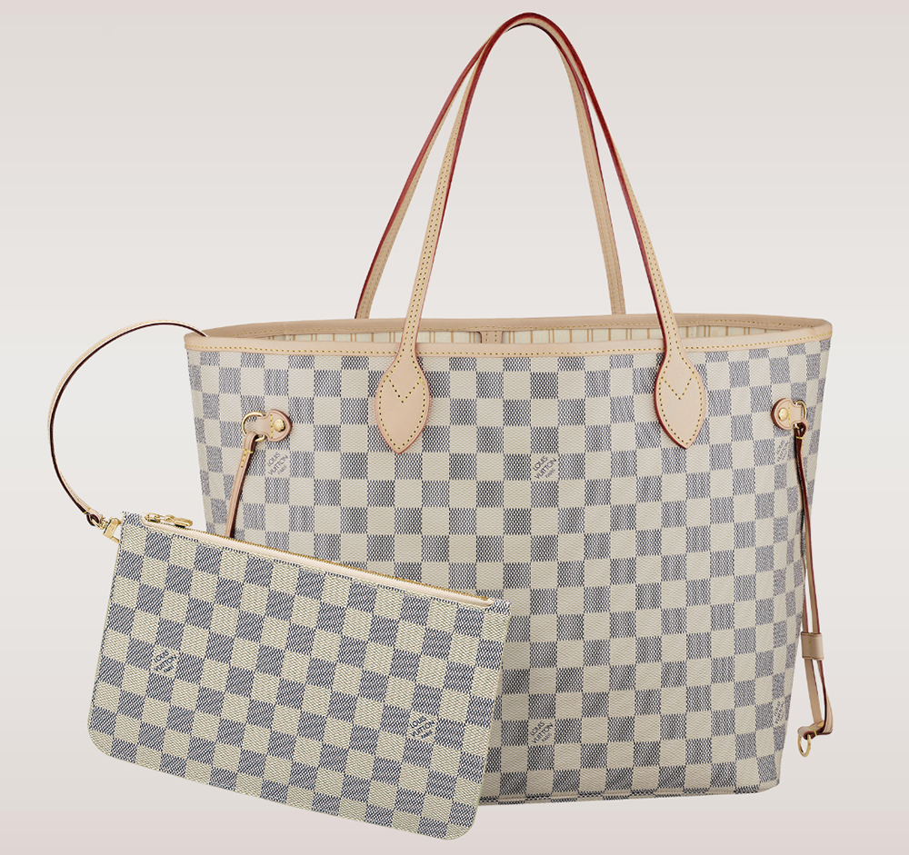 Louis Vuitton Damier Neverfull Tote MM