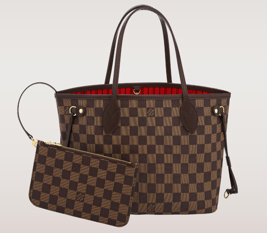 Louis Vuitton Damier Neverfull Tote Pm