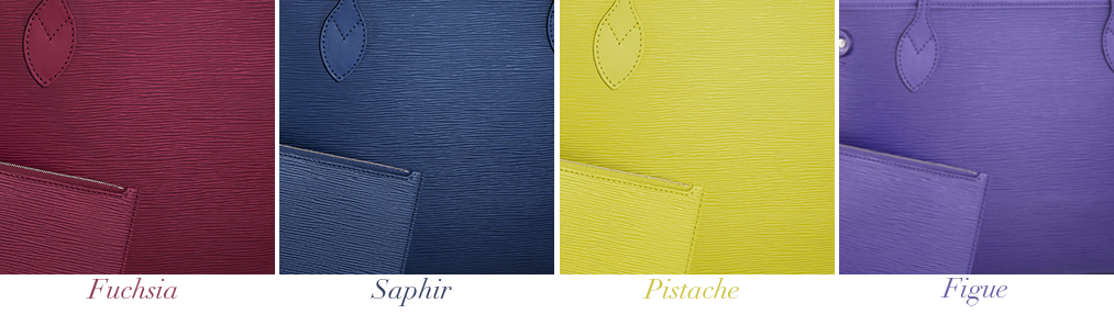 Louis Vuitton Epi Neverfull PM Colors