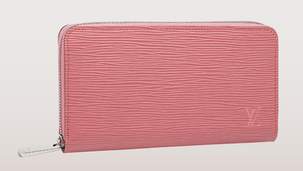 Louis Vuitton Epi Zippy Wallet Corail