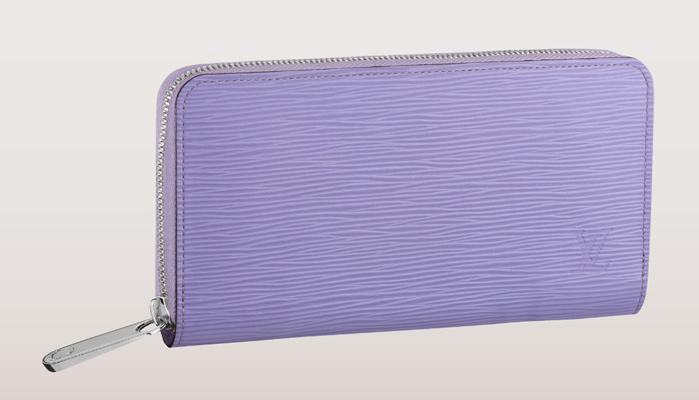 Louis Vuitton Epi Zippy Wallet Lilas