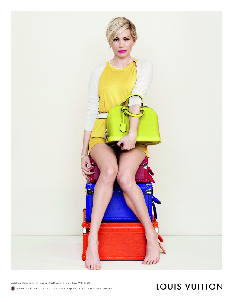 Louis Vuitton Michelle Williams Spring 2014 1