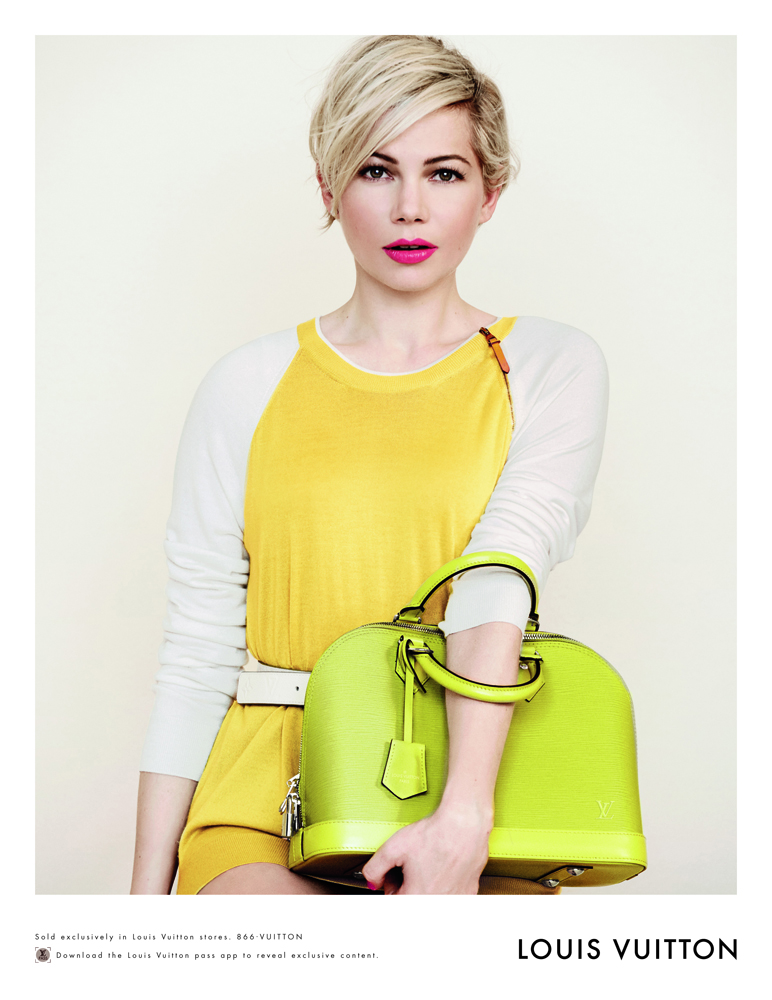Louis Vuitton Michelle Williams Spring 2014 12