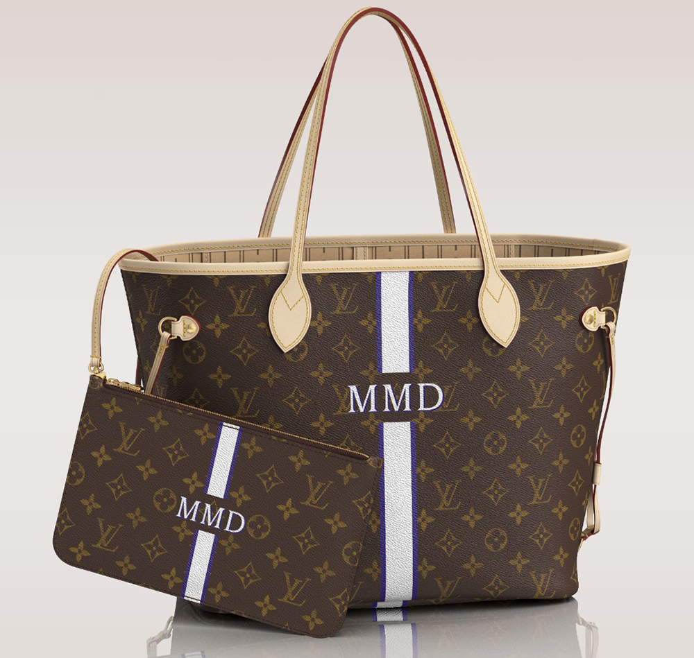 Louis Vuitton Mon Monogram Neverfull Tote MM