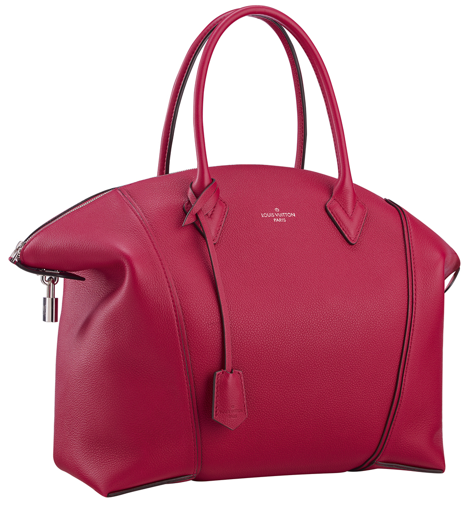 Louis Vuitton Soft Lockit Framboise