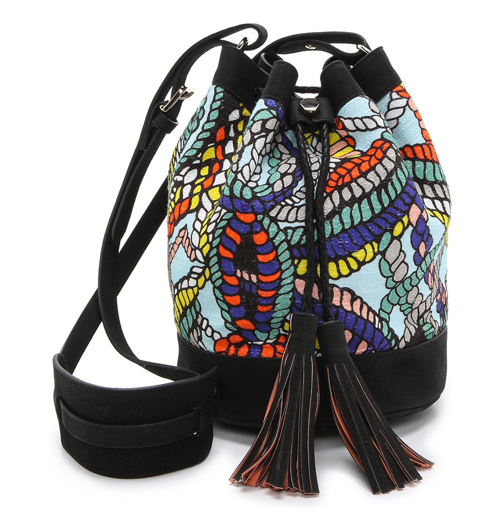 MSGM Printed Bucket Bag