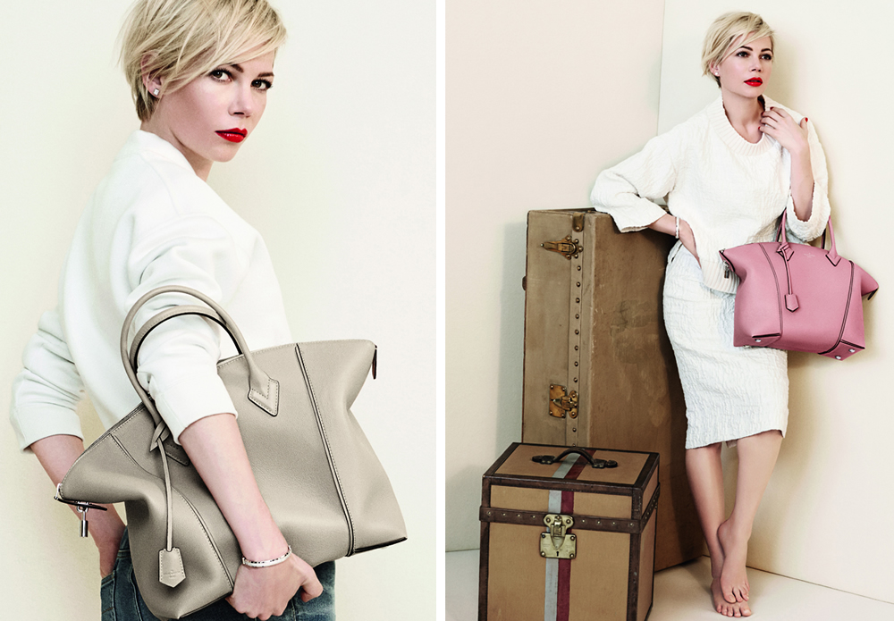 Michelle Williams Louis Vuitton Lockit